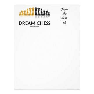 Dream Chess (Reflective Chess Set) Letterhead