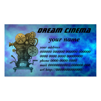 dream cinema business cards
