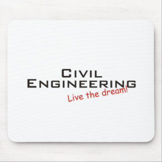 Dream / Civil Engineering Mouse Pad