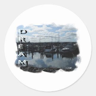Dream Classic Round Sticker