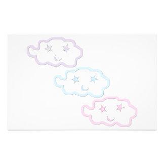 Dream Cloud Friends Angle Stationery