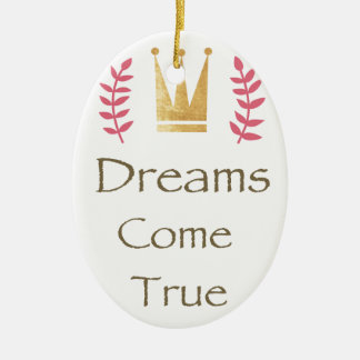 Dream Collection Ceramic Ornament