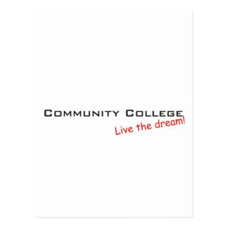 Dream / Community College Postcard