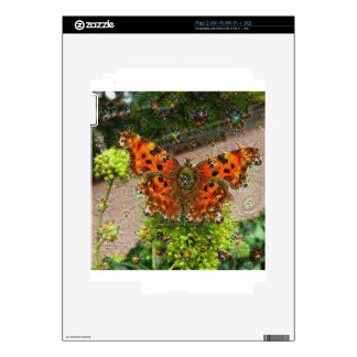 Dream Creatures, Butterfly, DeepDream iPad 2 Skin