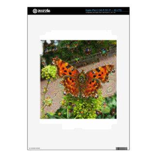 Dream Creatures, Butterfly, DeepDream iPad 3 Decals