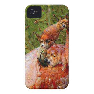 Dream Creatures, Flamingo, DeepDream iPhone 4 Cover