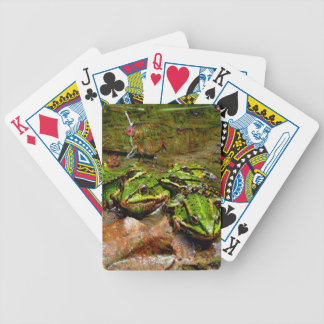 Dream Creatures, Frog, DeepDream Bicycle Playing Cards
