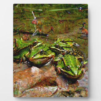 Dream Creatures, Frog, DeepDream Plaque