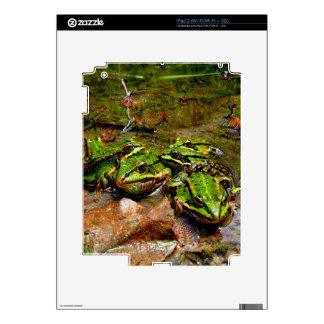 Dream Creatures, Frog, DeepDream Skin For The iPad 2