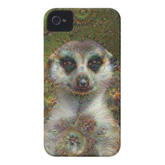 Dream Creatures, Meerkat, DeepDream Case-Mate iPhone 4 Case