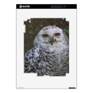 Dream Creatures, Snowy Owl, DeepDream iPad 2 Decal