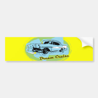 Dream Cruise Bumper Sticker