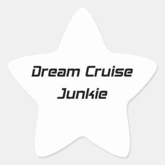 Dream Cruise Junkie Star Sticker