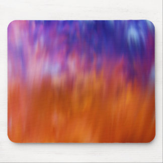Dream Curtain Abstract Digital Art Mouse Pad