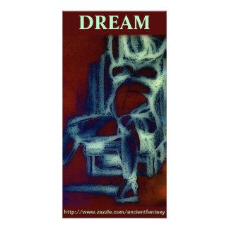 """""""DREAM"""" Custom Fine Art Photocard Card"""