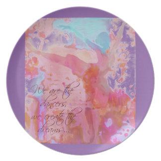 Dream Dancer Dinner Plate