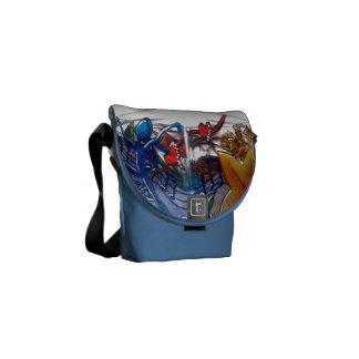 Dream dancer courier bag