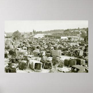 Dream del colector del coche antiguo, 1941 póster