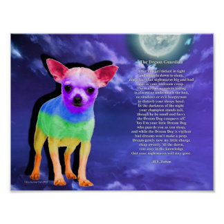 Dream Dog Poster (Chihuahua)