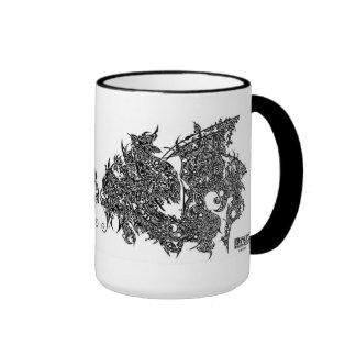 'Dream Dragon' Ringer Mug