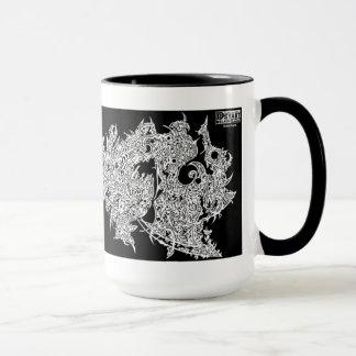 'Dream Dragon' (NEGATIVE/INVERTED) Mug