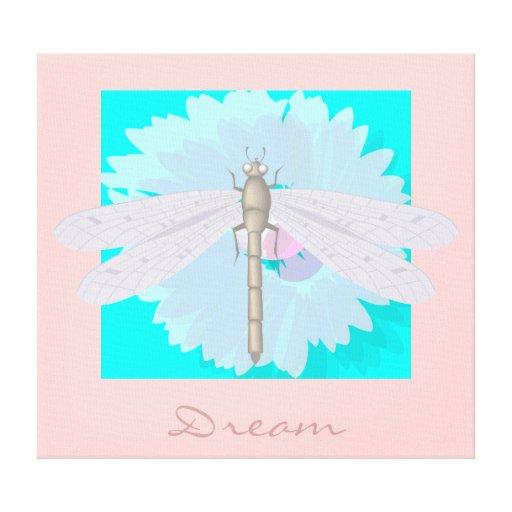 Dream Dragonfly Canvas Prints