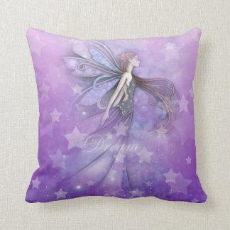 Dream Fairy in the Stars Throw Pillow