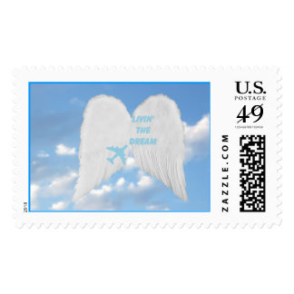 Dream Feather Wings Stamp