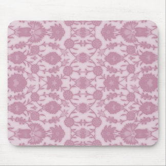 Dream Floral in Pink Mouse Pad