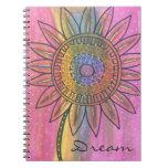 Dream Flower Original Artwork Note Book