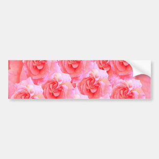 Dream Flowers and Magic Patterns Bumper Stickers