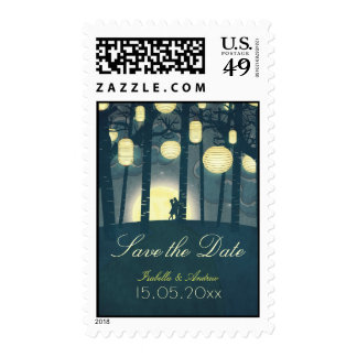 Dream Forest Postage Stamps