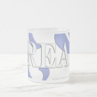 Dream Frosted Glass Coffee Mug