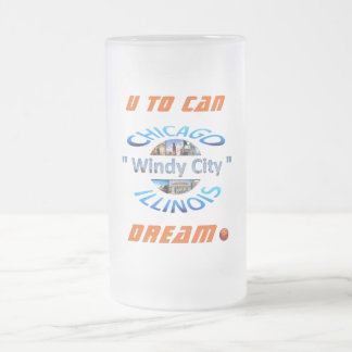 Dream Frosted Glass Mug