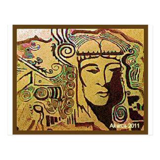dream gazer postcard