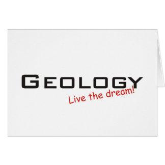 Dream / Geology Card