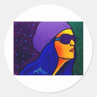 Dream Girl by Piliero Classic Round Sticker