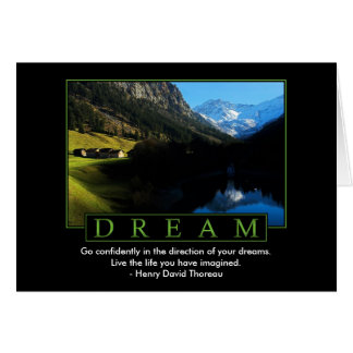 Dream Greeting Cards
