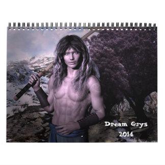 Dream Guys Fantasy 2014 Calendar