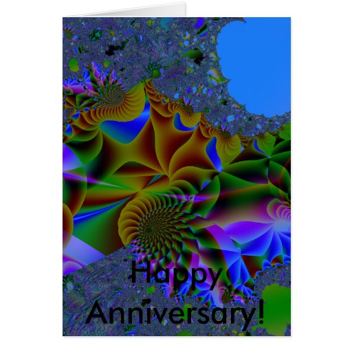Dream, Happy Anniversary! Greeting Card