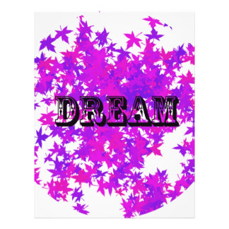 dream heart personalized flyer