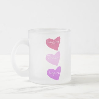 Dream Hearts Frosted Mug