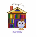Dream Home – Library! Acrylic Cut Out