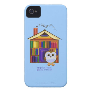 Dream Home – Library iPhone 4 Cover