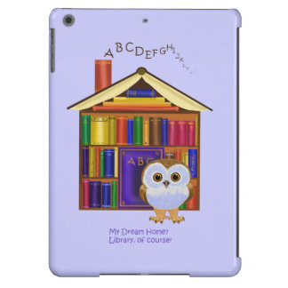 Dream Home – Library iPad Air Covers