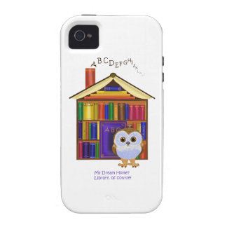 Dream Home – Library iPhone 4 Cases