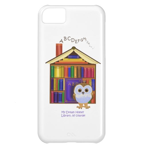 Dream Home – Library! Case For iPhone 5C