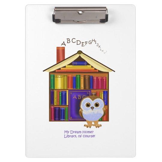 Dream Home – Library! Clipboard