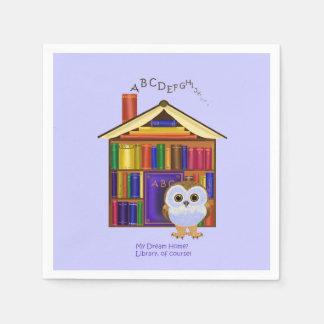 Dream Home – Library! Napkin