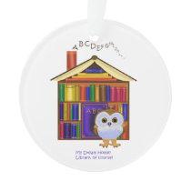 Dream Home – Library! Ornament